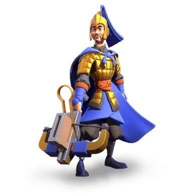 China Elite Chu-Ko-Nu Unit Rise of Kingdoms