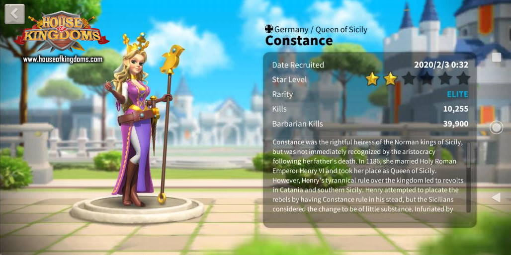 Constance Commander ROK