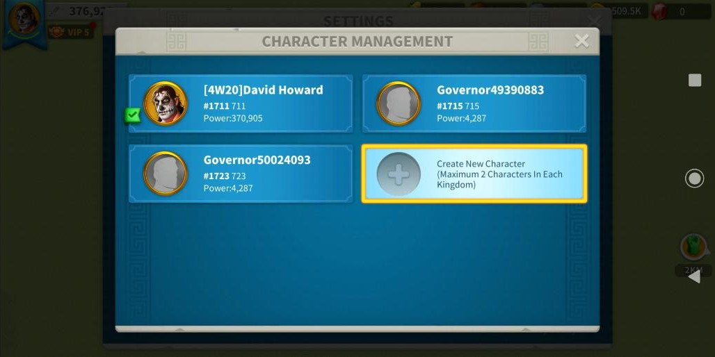 Create New Jumper Account ROK