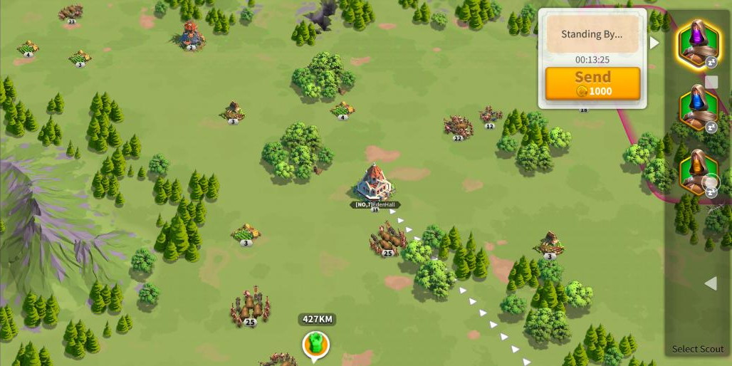 How to Scout in Rise of Kingdoms