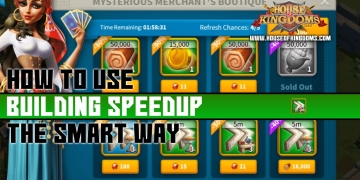 How to Use Building Speedup Rise of Kingdoms