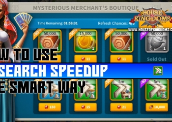 How to Use Research Speedup Rise of Kingdoms