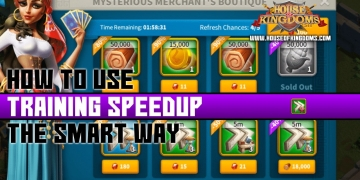 How to Use Training Speedup Rise of Kingdoms
