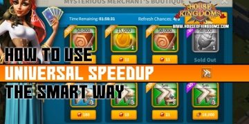 How to Use Universal Speedup Rise of Kingdoms