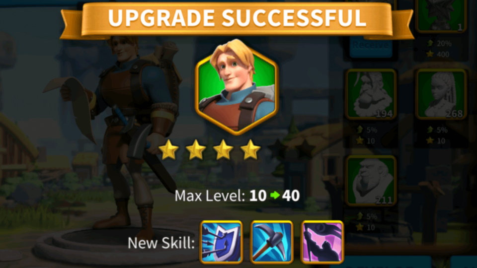 Power Up Commanders Fast