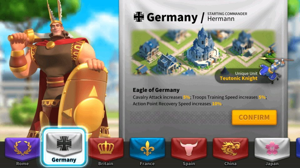 ROK Germany Civilization