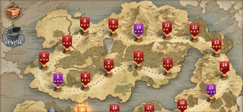 Rise of Kingdoms Campaign Expeditions