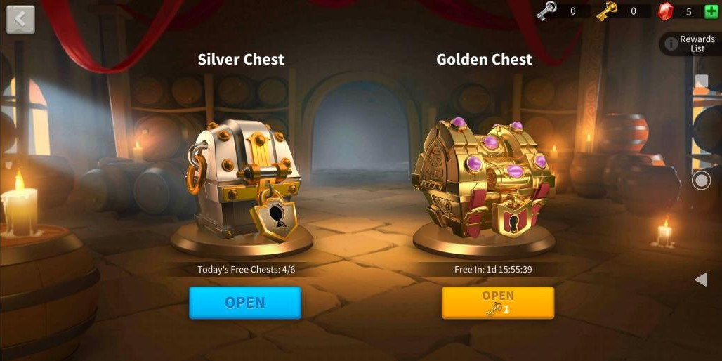 Rise of Kingdoms Chests