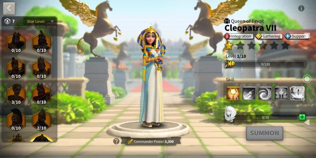 Rise of Kingdoms Cleopatra VII Preview