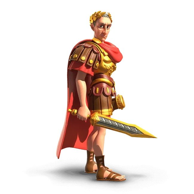 Rise of Kingdoms Julius Caesar Commander