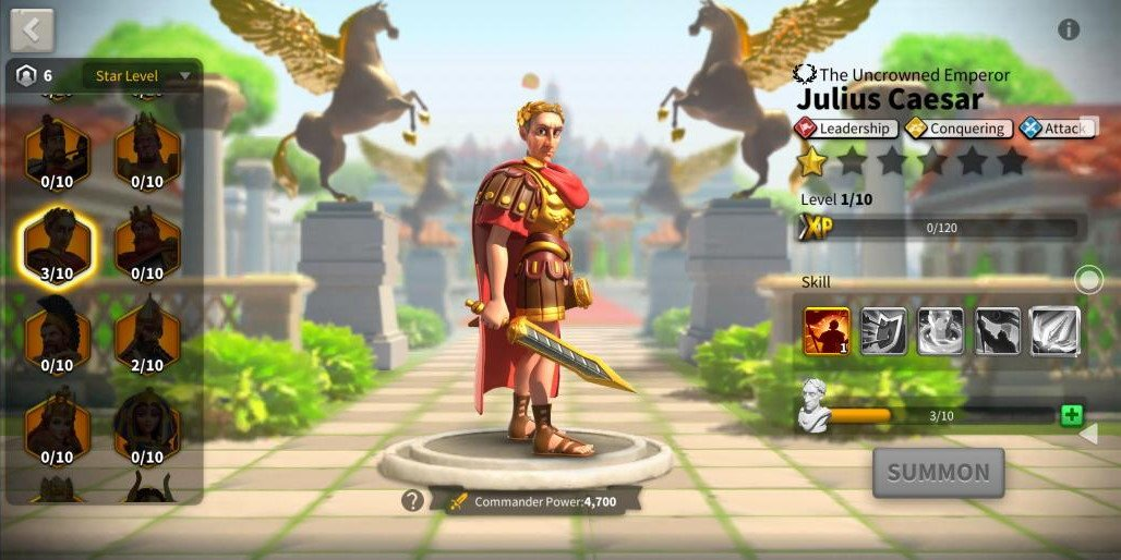 Rise of Kingdoms Julius Caesar