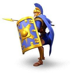 Rome Legionary Unit Rise of Kingdoms