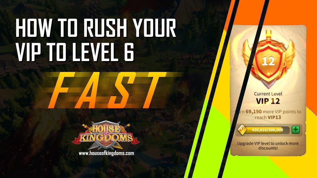 Rush VIP Level 6 ROK