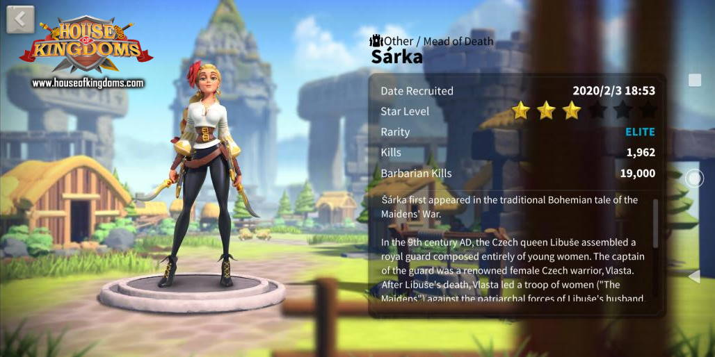 Sarka Commander ROK