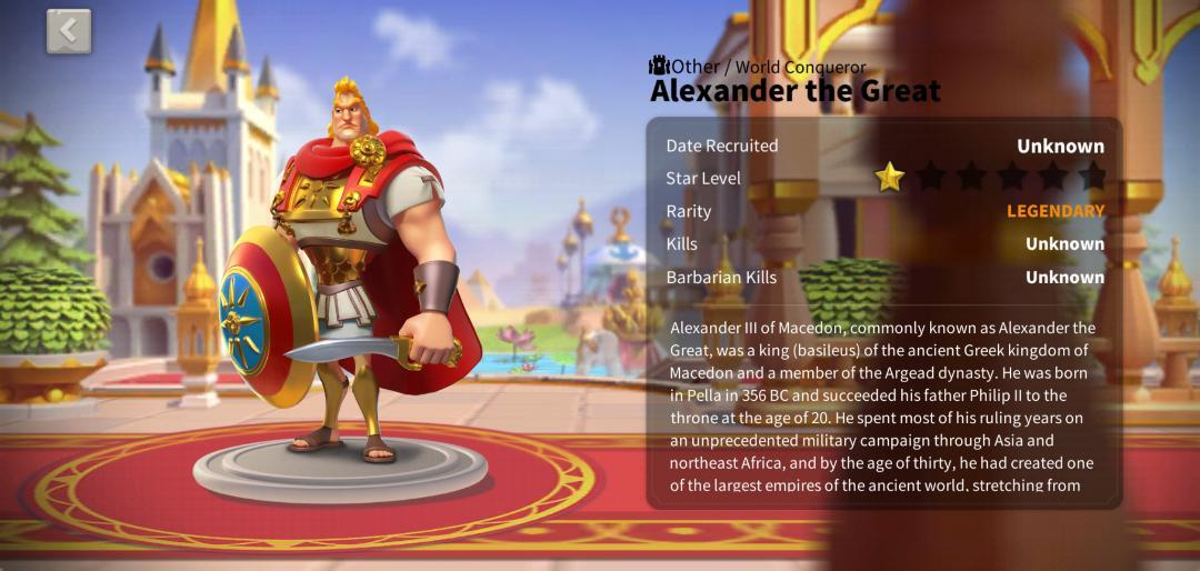 Alexander the Great ROK Guide