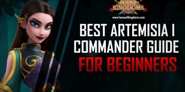 Best Artemisia I Commander Guide ROK