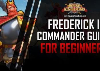 Best Frederick I Commander Guide ROK