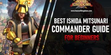 Best Ishida Mitsunari Commander Rise of Kingdoms