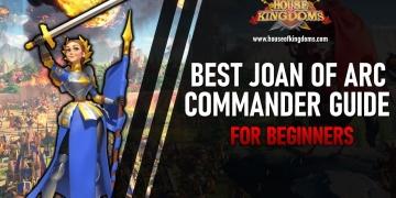 Best Joan of Arc Commander Rise of Kingdoms