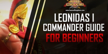 Best Leonidas I Commander Guide ROK