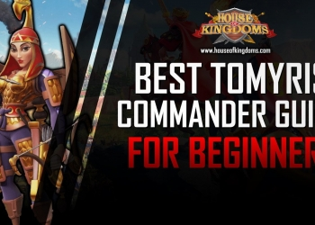 Best Tomyris Commander Guide ROK