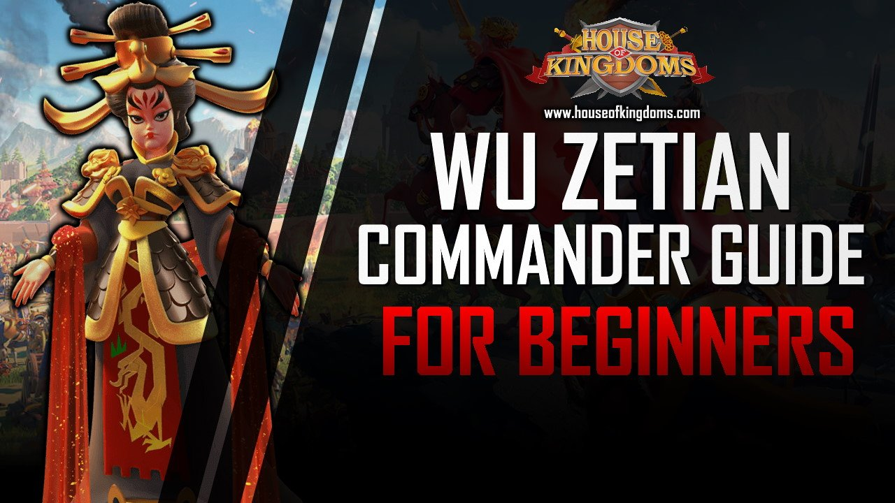 Best Wu Zetian Commander Guide ROK