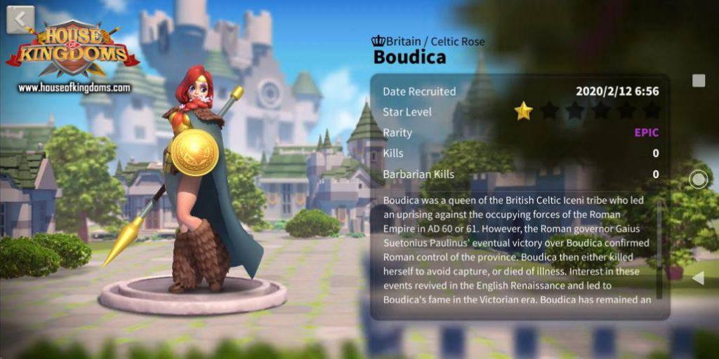 Boudica Commander ROK