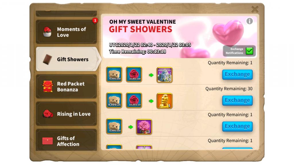 Gift Showers ROK