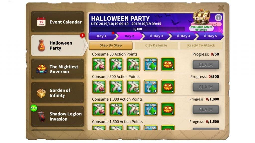 Halloween Party ROK