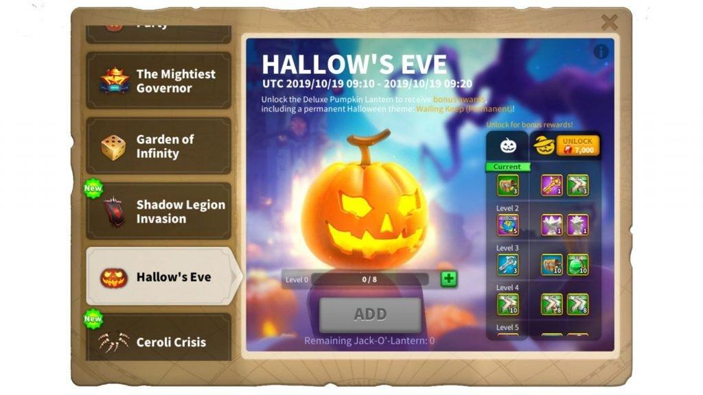 Hallow's Eve ROK