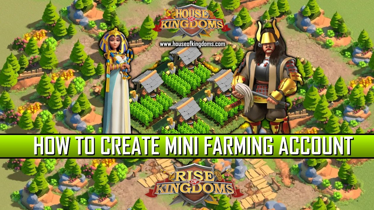 How to Create Mini Farming Account