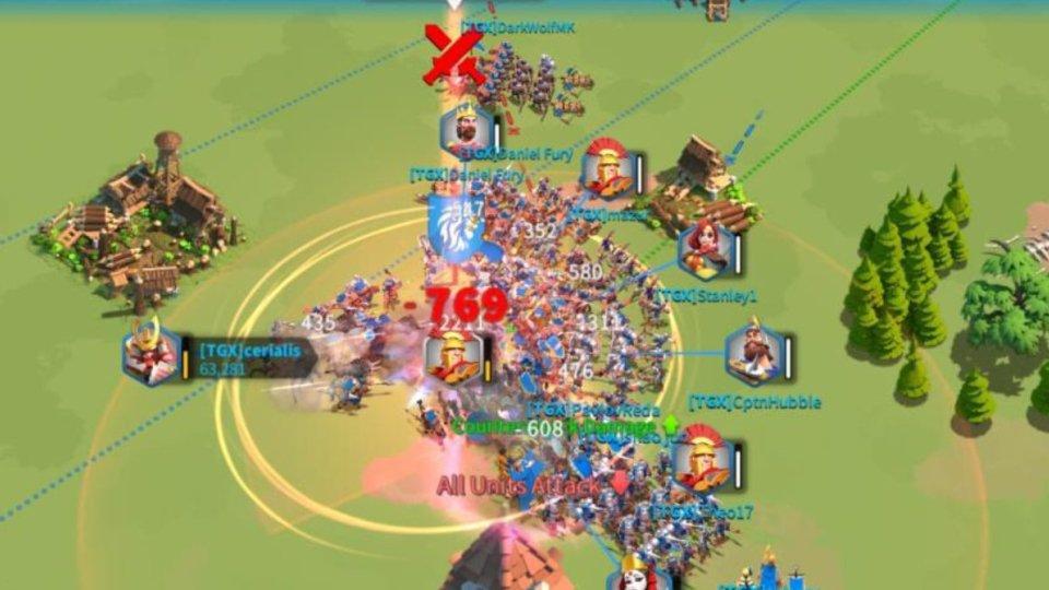 Rise of Kingdoms City Bomb
