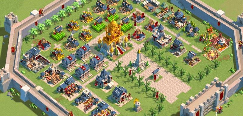 Rise of Kingdoms City Layout 9