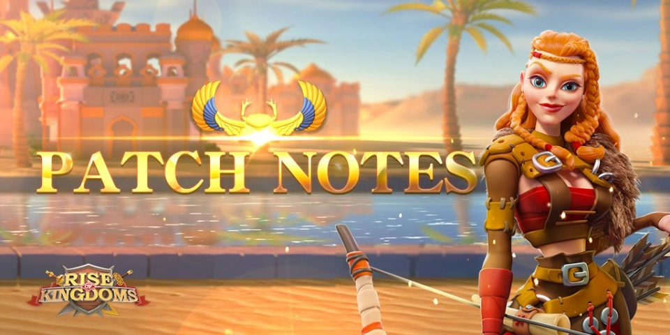 RoK Patch Notes 1.0.31