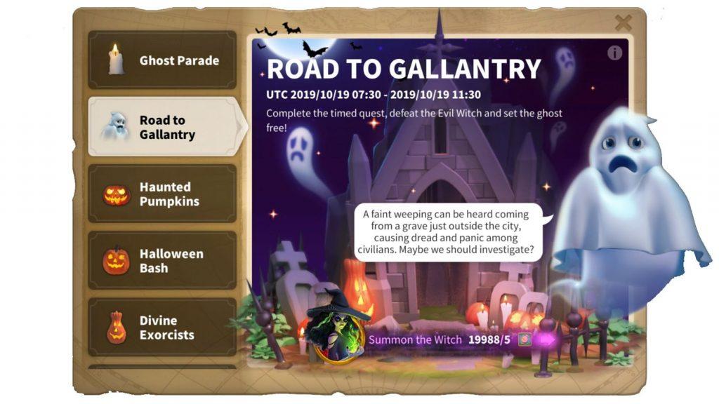 Road to Gallantry ROK