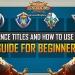 Alliance Titles ROK Guide