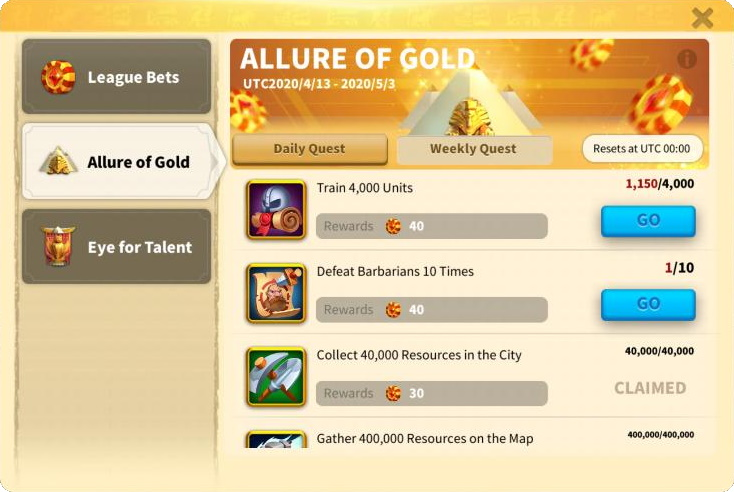 Allure of Gold Ark of Osiris