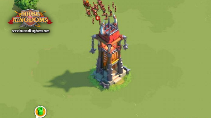 Barbarian Arrow Tower Rise of Kingdoms