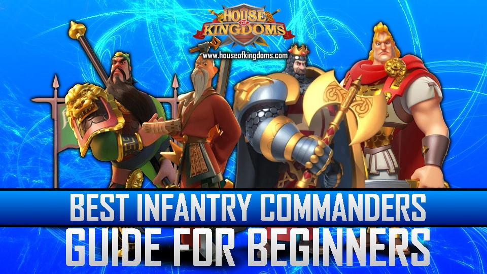 Best Infantry Commanders ROK Guide