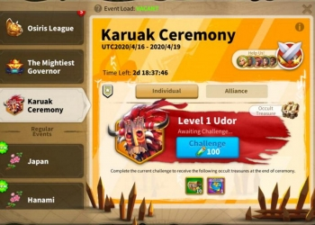 Best Karuak Ceremony Rise of Kingdoms Guide