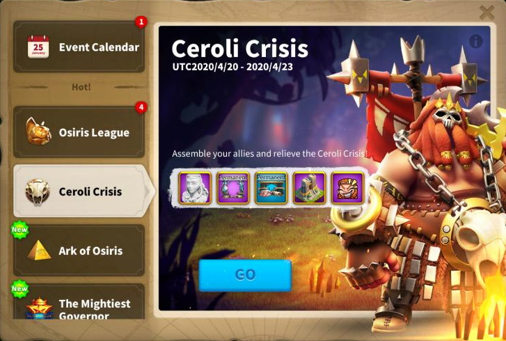 Ceroli Crisis Raid Bosses