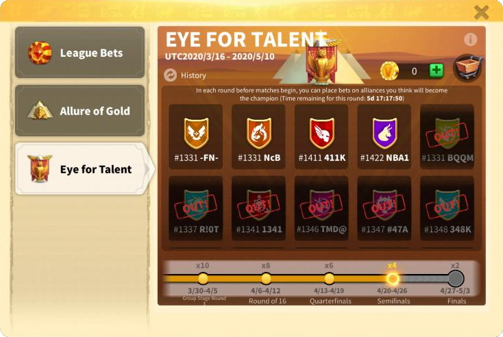 Eye for Talent Ark of Osiris