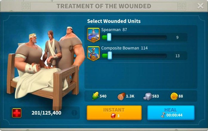 How to Heal Quickly In Rise of Kingdoms