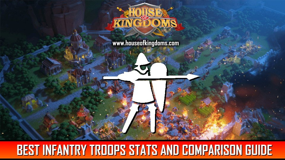 Infantry Troops Stats and Comparsion Guide