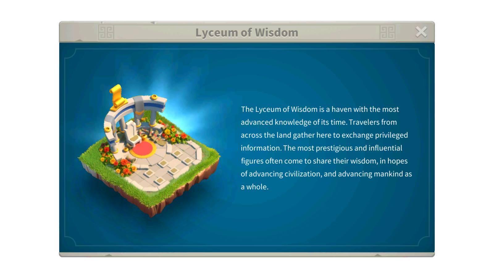 Lyceum of Wisdom