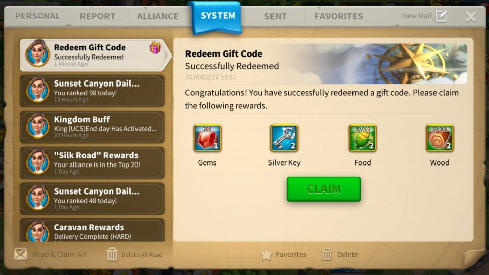 Rise of Kingdoms Gift Codes Rewardsa