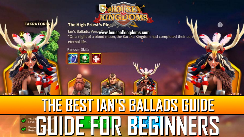Ultimate Ian's Ballads Guide Rise of Kingdoms