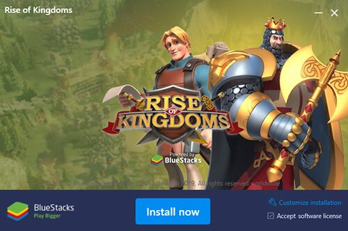 Install Rise of Kingdoms PC and Mac