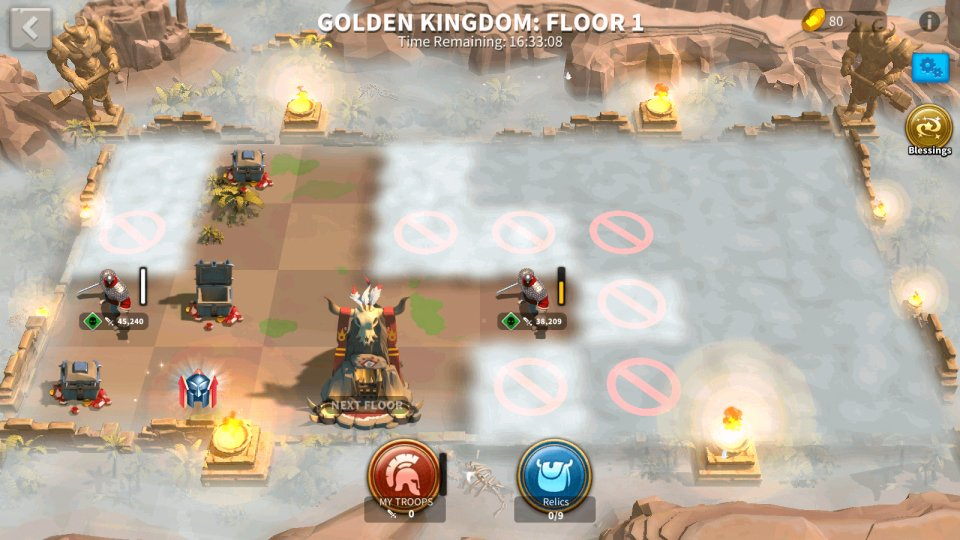 Rise of Kingdoms Golden Kingdom Event