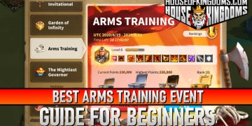 Best Arms Training Event Rise of Kingdoms Guide